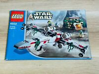 LEGO - INSTRUCTIONS BOOKLET ONLY - STAR WARS 4502 - X-Wing Fighter Dagobah