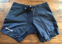TPS Belted Hockey Pant Shell Junior & Senior Sizes Black & Navy NEW
