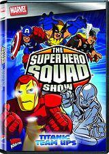The Super Hero Squad Show Vol. 2 - Titanic Team Ups  (DVD) NEW