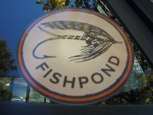 Fishpond Fly Fishing Speyer Circle sticker