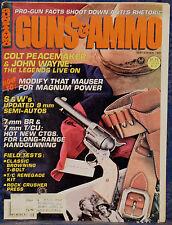 Magazine GUNS & AMMO September 1981 !!! THOMPSON/CENTER Renegade Rifle KIT !!!