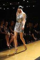 H&M X VERSACE CHAINMAIL DRESS Size 8 NWOT