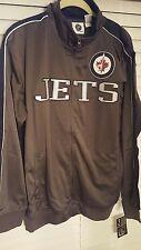 Winnipeg Jets Reflective Track Jacket NHL / XL - Tall / Charcoal / Navy