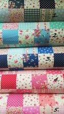 Unbranded Floral Quilting Craft Fabric Squares