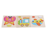 Baby 3D Puzzle Wooden Puzzle Animals Pattern Puzzles Children Educational Toys D