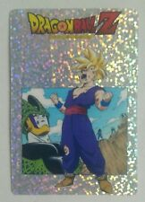 CARTE CUSTOM FLAKES PRISM DRAGON BALL Z SON GOHAN SILVER VS CELL LIMITED SPECIAL