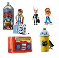 "Subway Surfers 4"" Figurines Tricky, Jake, Frank, and Plush Toys NWT Qty Discount"