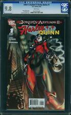 Joker's Asylum II: Harley Quinn #1 (CGC 9.8 NM/MT) (DC 2010) Joker and Harley!