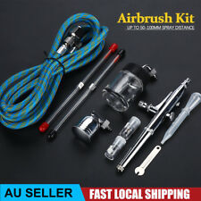 Air Brush Dual Action Spray Gun Airbrush Kit Car Nail Tattoos Art 0.2 0.3 0.5mm