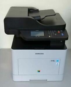Samsung CLX-6260FW Multifunktionaldrucker WLAN NETZWERK Nur 790 Seiten gedruckt.