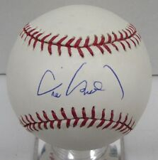 Eric Chavez Signed Baseball OML Autographed TriStar MLB Authentic BB2 25906