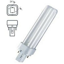 Lampadina PLC Dulux D 10W/840 General Electric 2pin fluorescente. Luce bianca