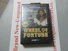 Brand New, Factory Sealed, Sega Genesis Wheel Of Fortune, Free Shipping