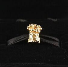 NEW Authentic Pandora 14K Gold Love Bouquet w/ Diamond Charm 750446D