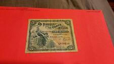 Belgain Congo  1943 5 franc rare date
