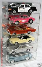 Diecast Model Display Case 1/18th Scale 6 car Vertical