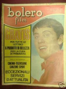 MORANDI BOLERO FILM 10 APRILE 1966 N°988