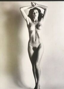 1976 Helmut Newton - Big Nudes Paris, Size 11x14 FRAME READY MATTED