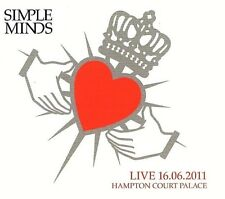 FACTORY SEALED SIMPLE MINDS - Live 2011 London Hampton Court Palace 2-CDs