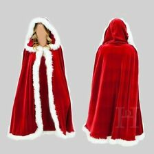 2017 Santa Claus Child Dress Cape Women Merry Christmas Costume Fancy Coat Dress