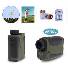 Golf Laser Rangefinder Pinseeking Distance Speed Measurement+2xBattery+Charger