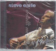 CD--STEVE EARLE--LIVE AT MONTREUX