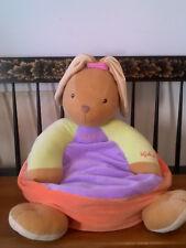 "Kaloo Colors Maxi Rabbit Sofa - ""My First Sofa"" - 18"" Cotton Microfiber - France"