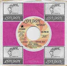 SAVOY BROWN  Everybody Loves A Drinking Man  rare promo 45 from 1974