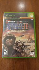 Conflict: Desert Storm II -- Back to Baghdad (Microsoft Xbox 2003) MINT COMPLETE