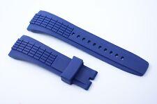 Relojes pulsera kunsstoff 26 mm Navy azul para Seiko velatura spc156p spc075 srh017