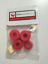 ALAI SKATEBOARS RED STANDARD TRUCK BUSHINGS SET - CYLINDER CUSHIONS