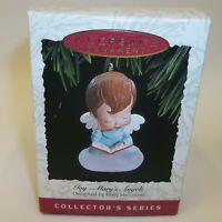 Vintage Hallmark Mary's Angels Christmas Ornament - Joy - Mint in Box