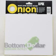 U-POL UP0737 Onion Board Multi-Layered Mixing Palette 100 Wax-Free White Sheets