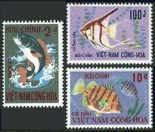 Viet Nam Sud 402-404, Mi 480-482, MNH Poisson, 1971