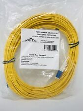 Allen Tel GBLCC-D1-25 Fiber Optic Cable Assembly Patch Cord, LC To SC, 25 meters