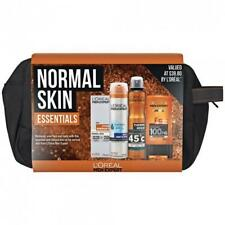 L'Oreal Men Essentials Set: Shave Gel; Shower Gel; Moisturiser; Deodorant + Bag