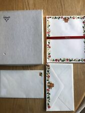 Vtg Hallmark Ambassador Stationery Boxed Set Strawberry Vine Partial