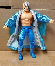 "Sting 6"" inch WCW Blue Toybiz Evolution of Sting WWE TNA Loose"
