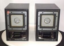 SONY SRS-150 Amplified Active Speaker System Set of 2 AUX Input