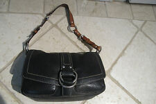 Coach Black Pebbled leather bag . 10893. Good condition. Clean in and out.