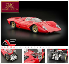 CMC M-096 1:18 1969 FERRARI 312P BERLINETTA SUPERCAR DIECAST MODEL CAR