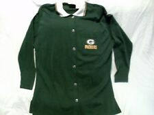 Green Bay Packer ~ Long Sleeve ~ Button Up Shirt ~ Size M ~ Womans