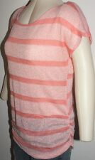 MATERNITY BLOUSE WOMEN TOP EXTRA LARGE ORANGE XL