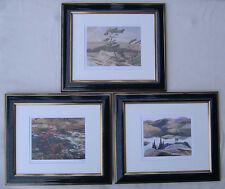 Group of Seven, A.J. Casson, A.Y. Jackson & F. Carmichael prints in Black Frame