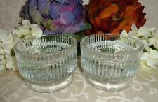 """Lenox Crystal Candle Holders """"2 Vintage Heavy Crystal Candle Holders�"""