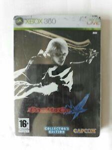 Devil May Cry 4 Steel book Collectors Edition Game Microsoft Xbox 360 Capcom