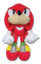 """Ships Next Day GE Great Eastern Sonic The Hedgehog 9"""" Classic Knuckles Plush"""
