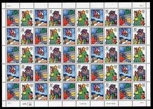 3108 - 3111 Sheet 50 32¢ Stamps Christmas 1996