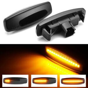 Dynamic LED Side Marker Lights For Infiniti EX25 EX35 EX37 Q40 Q60 Q70 QX50 QX70