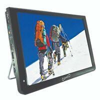 "SuperSonic SC-2812 - 12""  Portable Widescreen TV w/ HDMI, USB, SD Inputs"